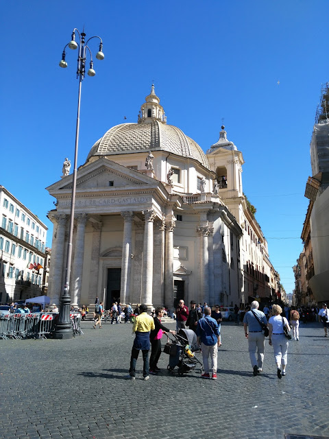 Piazza del popolo-Roma
