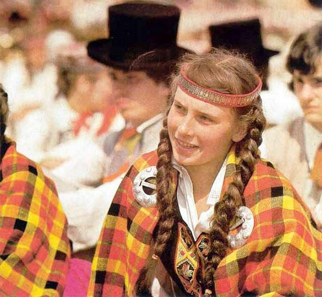 1980-е годы. Рига. Праздник песни и танца