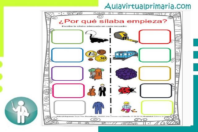 recurso, educativo, material, actividades, primaria