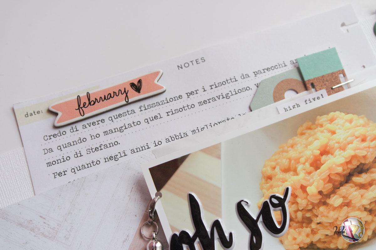 Dating layout scrapbook