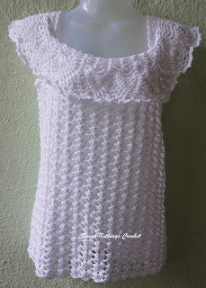 free crochet off the shoulders top pattern