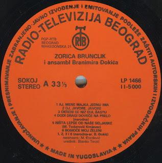 Zorica Brunclik - Diskografija 3