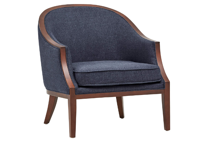 Stone And Beam Ashbury Latest Exposed Wood Accent Chair