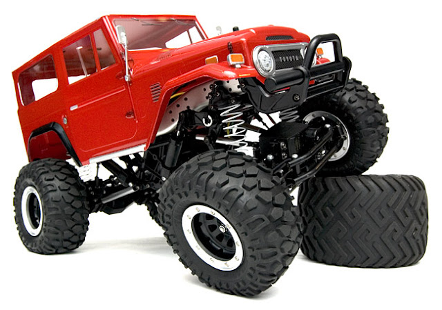 Tamiya Toyota Land Cruiser CR-01 articulation
