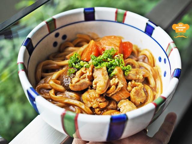 Curry Udon - Kimi-Ya Japanese Restaurant New Menu 2018 Old Klang Road Kuala Lumpur