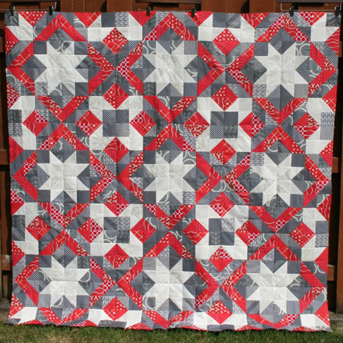 Christmas Quilt Top & Block - Free Pattern