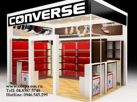 Thiết kế shop giày converse