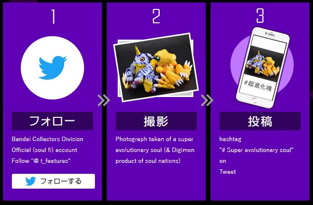 Tamashii Nations anuncia una campaña para anunciar su próximo Digivolving Spirits 6 - #超進化魂 #SuperEvolutionSoul