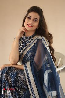 Actress Manjusha Pictures in Saree at Srirastu Subhamastu Song Launch  0057.JPG