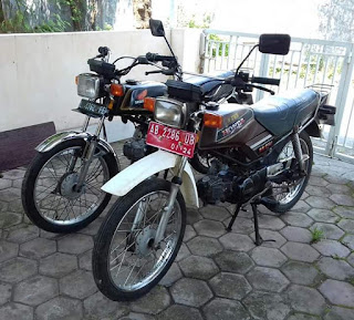 Jual 2 Unit Honda WIN Joss Gandos