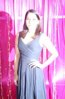 Rashmi Gautam in Black Sleeveless Gown at Zee Telugu Apsara Awards 2017 9th April 2017~ Exclusive