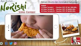 Kontes Video Kombo Winger Norishi Berhadiah Total Puluhan Juta Rupiah