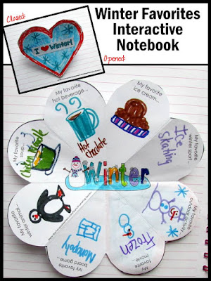 winter crafts craftivity literacy activities for kids