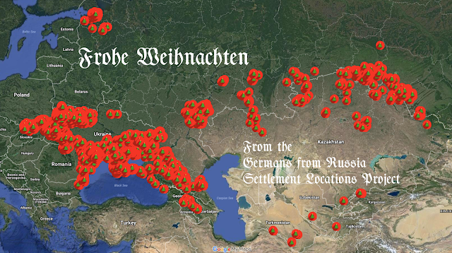 Merry Christmas from the Germans from Russia Settlement Locations Project!