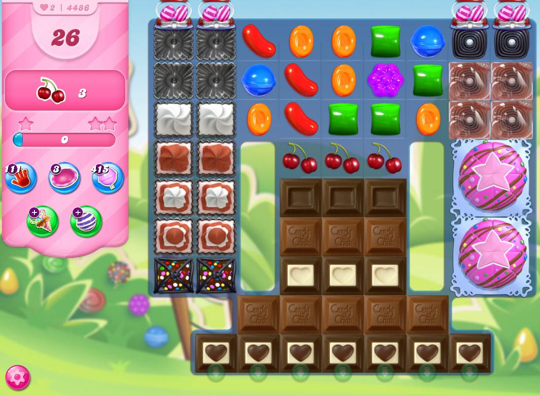 Candy Crush Saga level 4486