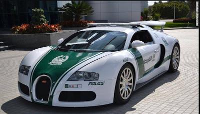 Dubai enters Guinness World Records for having the world's fastest police cars
