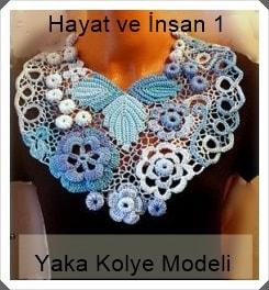 Takı Tasarım - Yaka Kolye Modeli 2