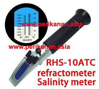 salinity meter pada air
