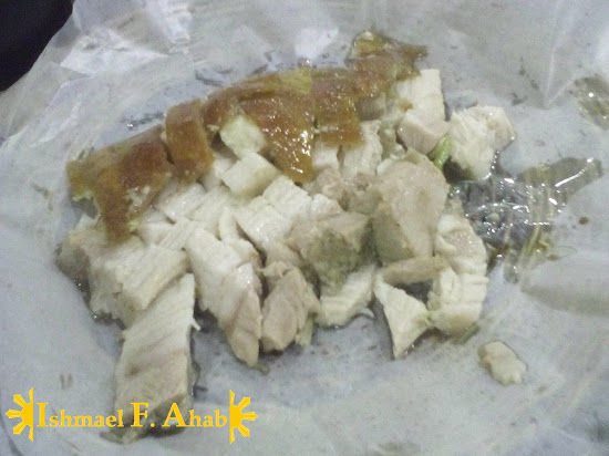 Yummy lechon belly from Cebu's Original Lechon Belly