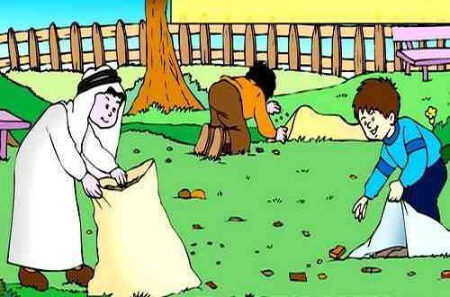 موضوع تعبير عن النظافة بالعناصر يصلح لجميع الصفوف 2021