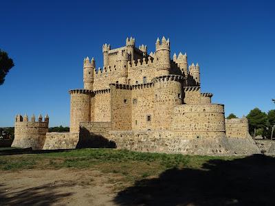 Parte trasera del Castillo de Guadamur