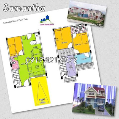 SAMATHA SINGLE ATTACHED FLOOR PLAN - TERRAVERDE RESIDENCES AFFORDABLE HOUSE AND LOT SALE RENT TO OWN CAVITE