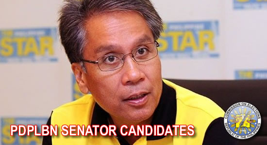 LIST: Tentative Candidates National Positions - Senators (LP)