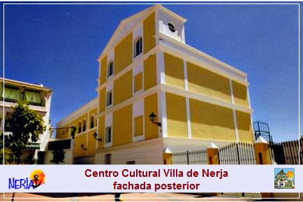 Fachada posterior del Centro Cultural Villa de Nerja