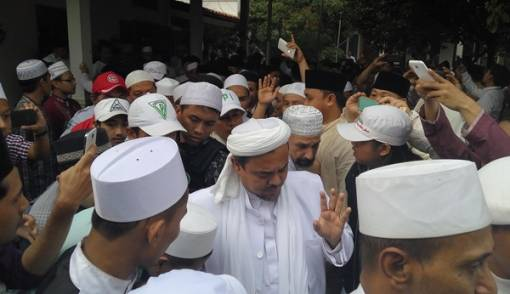 Bilang Mustinya Jokowi Gelar 'Karpet Merah' Sambut Langsung Kedatangan Habib Rizieq, Kalau Sampai Ditangkap Ini Kata Egi Sudjana yang Bakal Terjadi.....