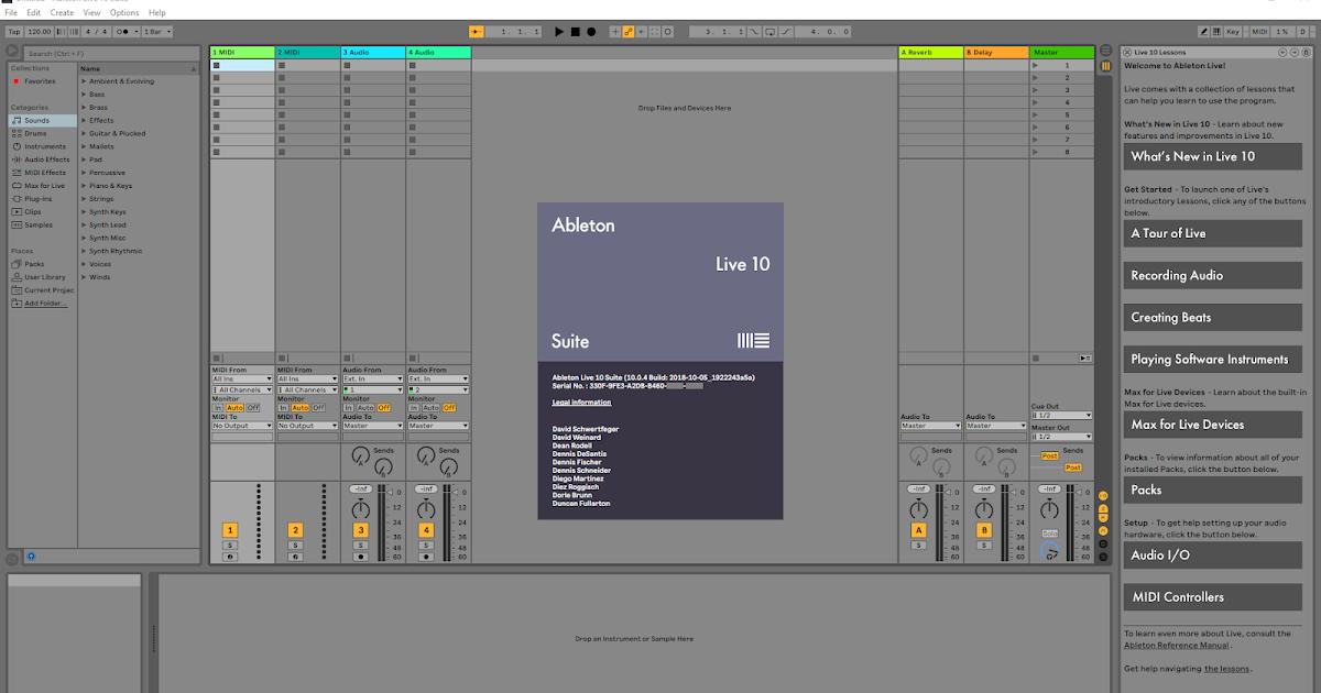 ableton live 10 suite free download mac