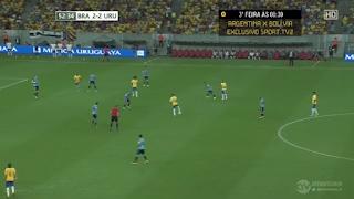 اهداف مباراة البرازيل وأوروجواي2-2   تصفيات كأس العالم: أمريكا الجنوبية