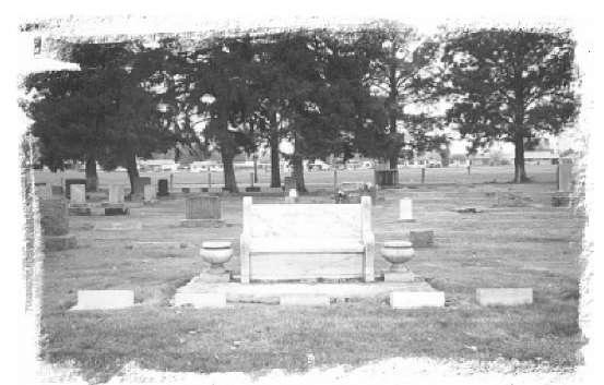 El viejo cementerio de Canyon Hill