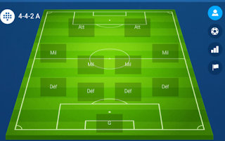 online soccer manager 442a formation