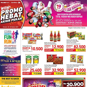 Katalog Promo Carrefour Weekend 20 - 22 Oktober 2017