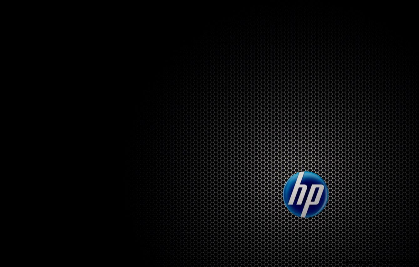Hp black logo hd wallpaper gallery - Hp screensaver ...