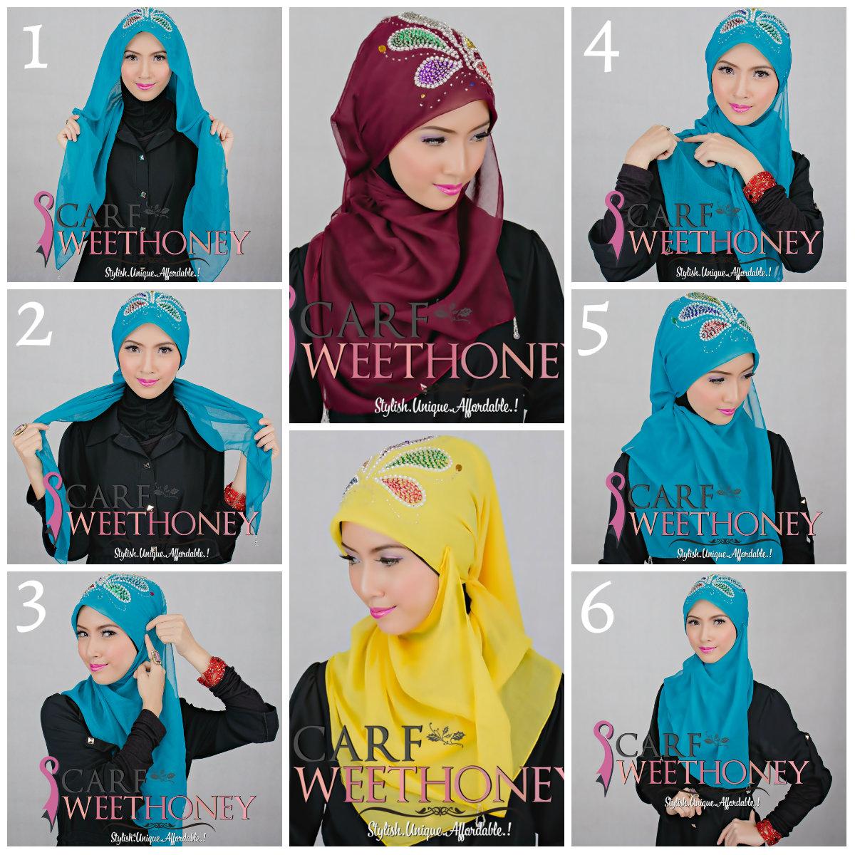 84 Gambar Lengkap Tutorial Hijab Fatin Shidqia Lubis Paling