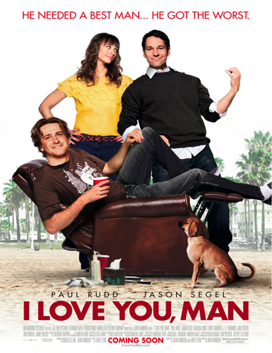Ver Te quiero, tío (I Love You, Man) (2009) Online