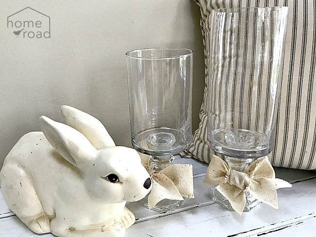 Make Your Own Pedestal Vases From the Thrift Store