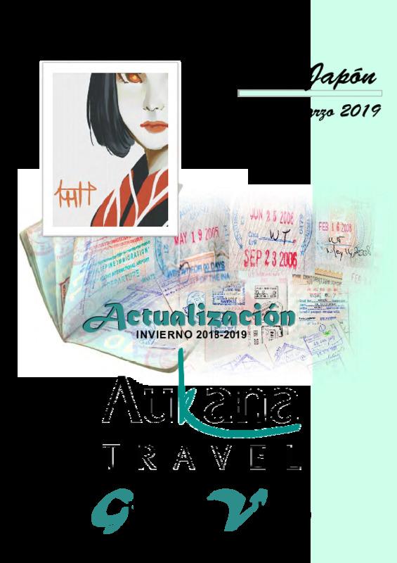 Catálogo Aukana Circuitos Japón Invierno 2018-20