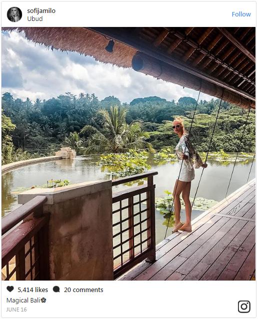 Adem Ljajic liburan di Bali Pamer Foto Mesra