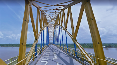 Jembatan Indragiri Rumbai Jaya