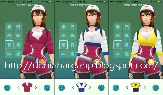 Game Pokemon GO Mendandani Trainer Customize Trainer