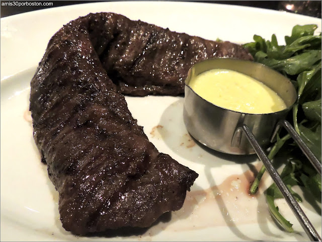 Dine Out Menú Boston Chops: Grilled Prime Skirt Steak