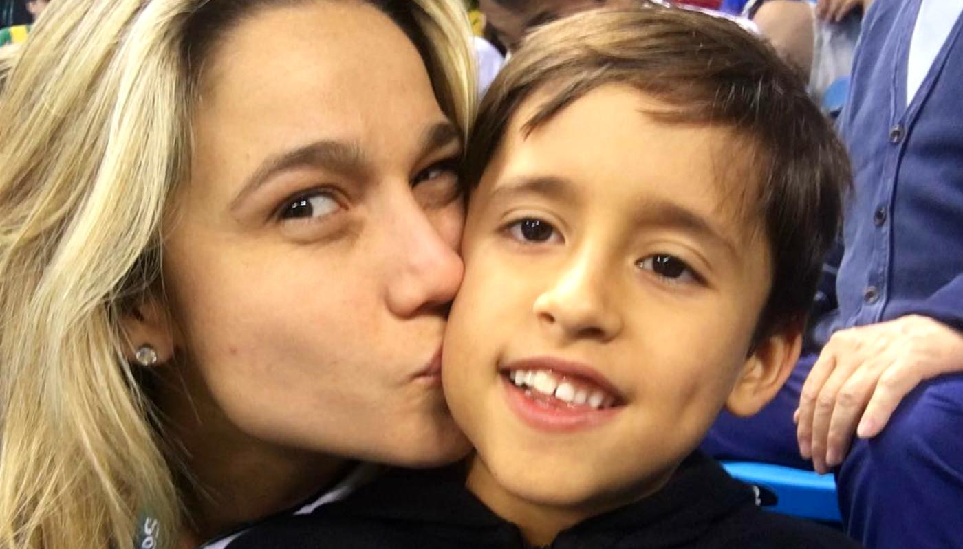 Fernanda Gentil revela como contou sobre a namorada para o filho Lucas