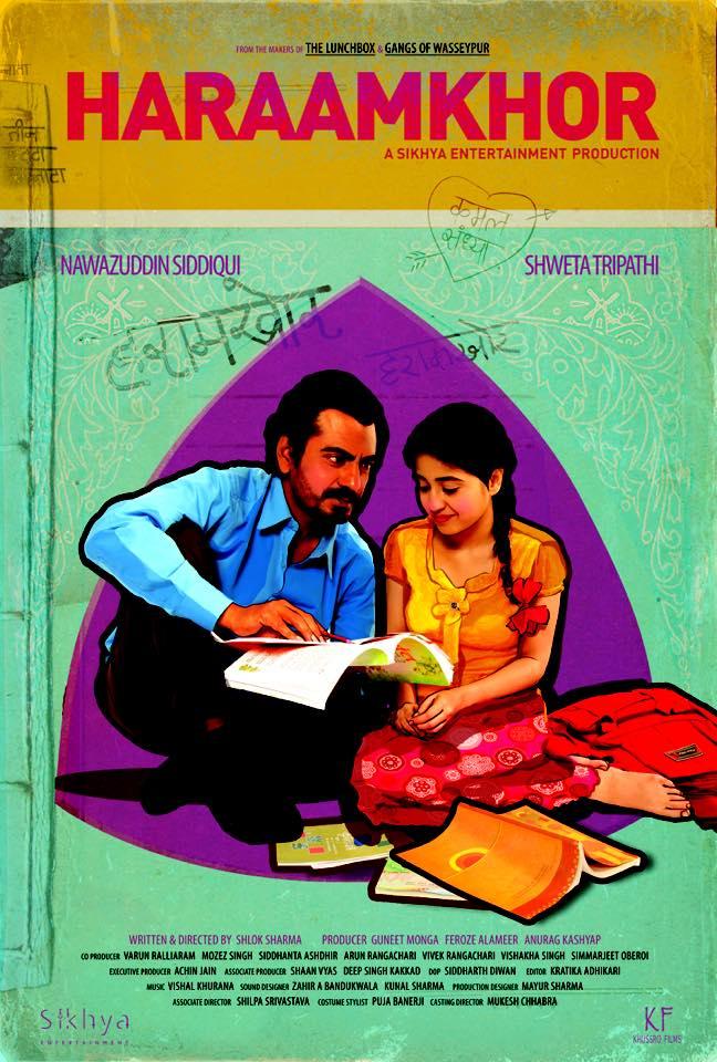 Nawazuddin Siddiqui and Shweta Tripathi  - Shweta Tripathi in Haraamkhor 2016 Shweta Tripathi in Haraamkhor 2016 -  Movie Film  - Best film of the Year