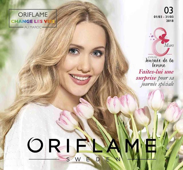 catalogue oriflame maroc mars 2018