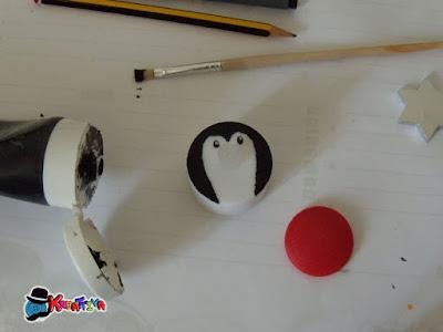 pinguino segnaposto