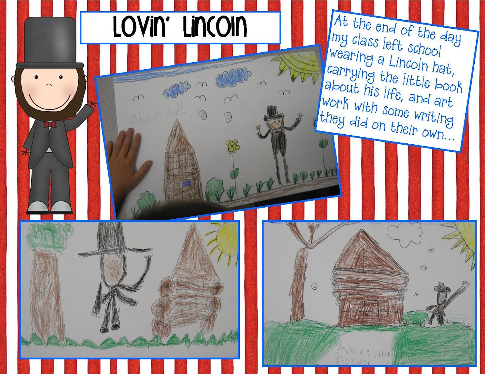 Kindergarten Crayons Lovin President Lincoln