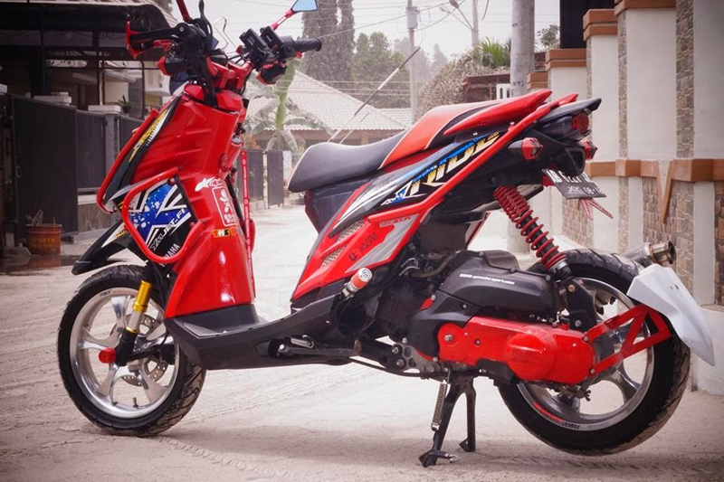 referensi x ride modif touring