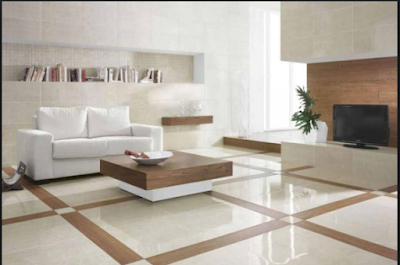 Inspirasi  Lantai Granit  Rumah Minimalis 4